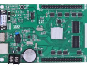 Huidu LED control card Ethernet ports+U disk controller card