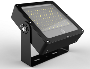 LED flood light for parking lot
