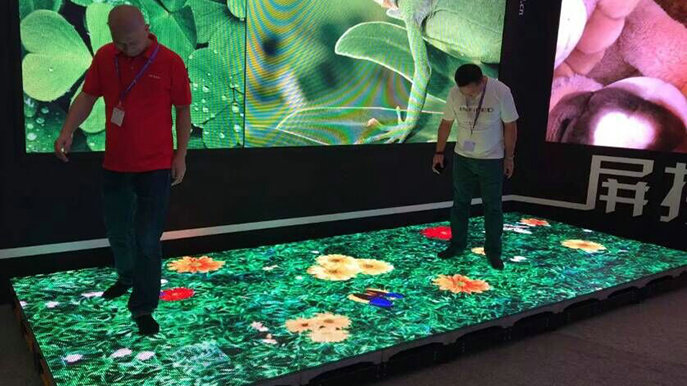 Subversive Imagination Of The Led Display Application In