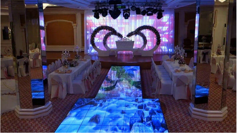 When Will Floor LED Display Tiles to be Widely Used on Stage