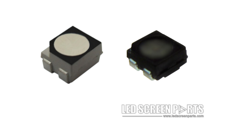 Black-LED-and-withe-LED