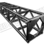 Truss for rental LED display screen