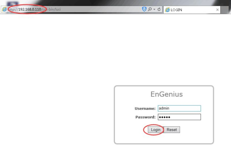 Login Engenius