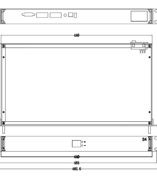 Colorlight S4 HD LED Sender processor dimenssion