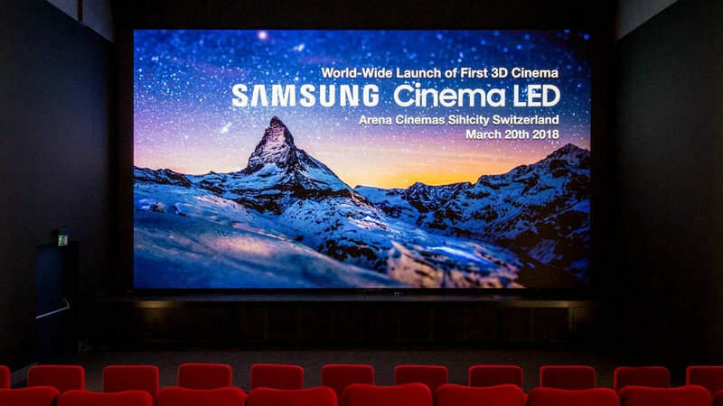 Cinema Trends Will LED Screen Push Out Projection