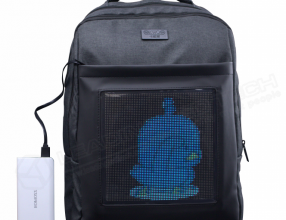 LED Bag LED backpack Portable advertising bag