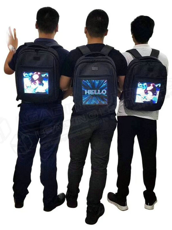 Vest LED Screen Vest LED Display Wearable LED Display LED Bag