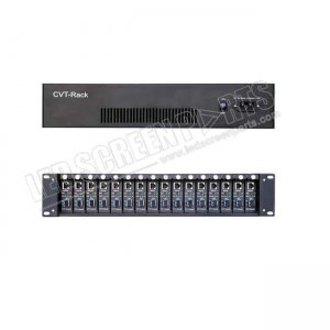 Novastar CVT-Rack320 is a multi-channel fiber converter developed by NovaStar based on CVT-320 to meet different customers' requirements.