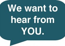 we want to Hear_from_you