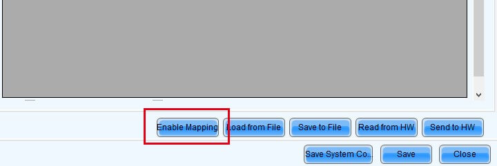 How does the Panel mapping option activate