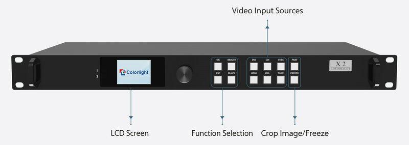 Colorlight X2 Controller interface -1